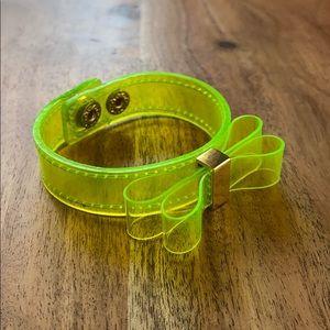 Neon BCBG Cuff Bracelet